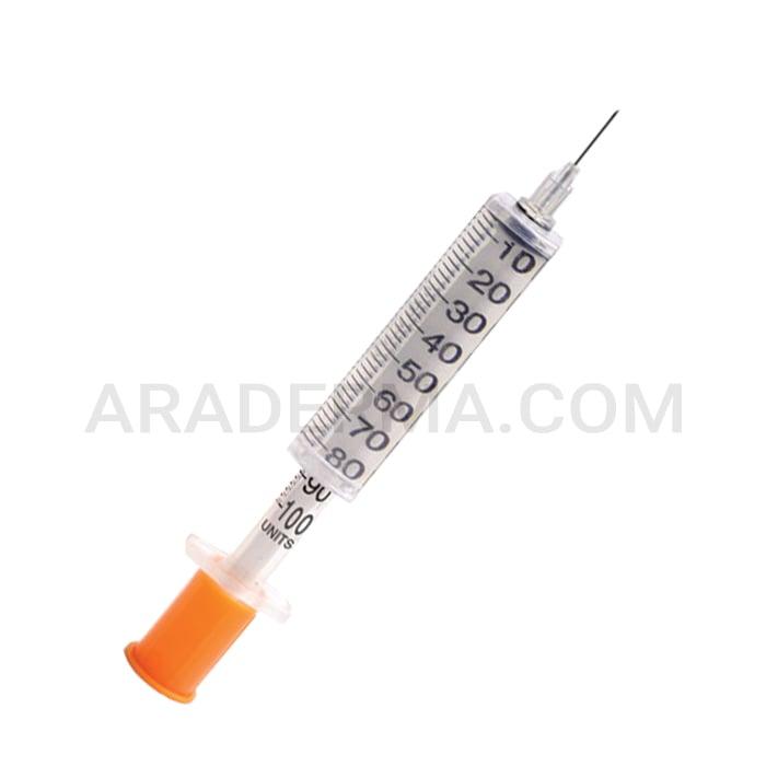 سرنگ انسولین یکپارچه آوا