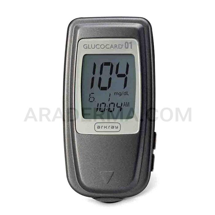 دستگاه تست قند خون آرکری گلوکو کارد Arkray Glucocard-01