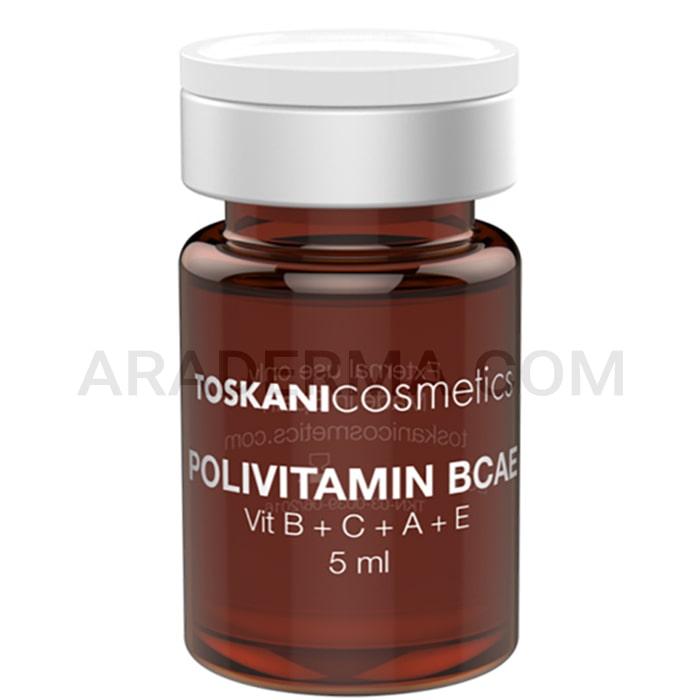 محلول مزوتراپی توسکانی پلی ویتامین Toskani Polyvitamin