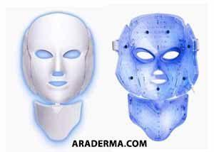 ماسک ال ای دی آبی