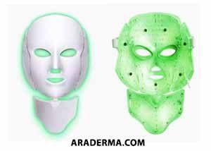 ماسک LED سبز