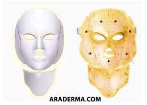 ماسک ال ای دی زرد