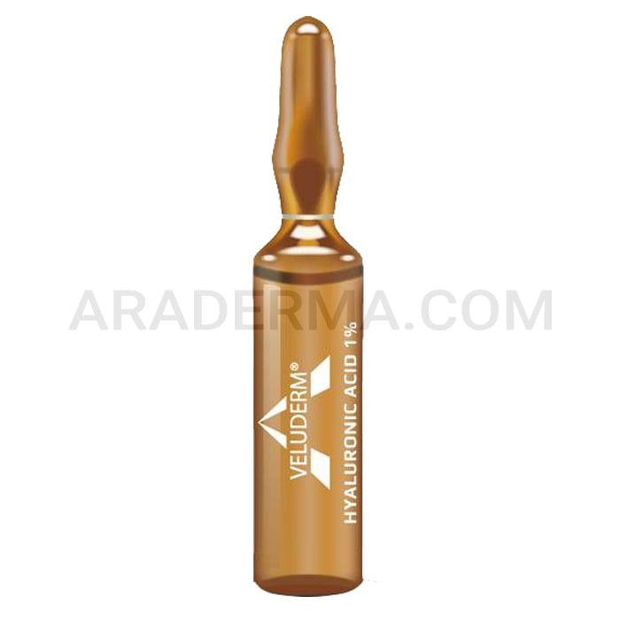 محلول مزوتراپی هیالورونیک اسید ولودرم Veluderm Hyaluronic Acid 1%