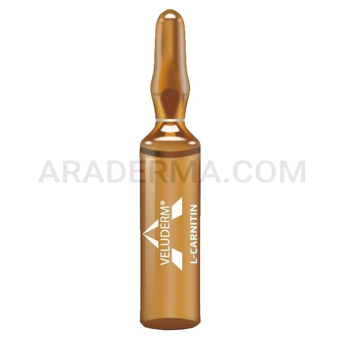 محلول مزوتراپی سلولیت ولودرم Veluderm L-Carnitine