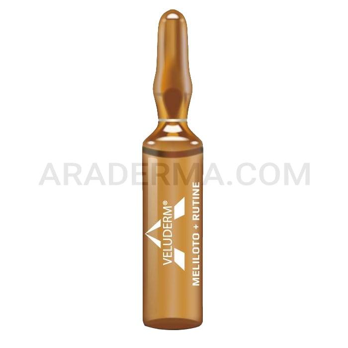 محلول مزوتراپی آنتی سلولیت ولودرم Veluderm Meliloto + Rutine