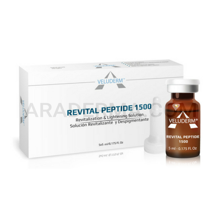 کوکتل مزوتراپی روشن کننده ولودرم Veluderm Revital Peptide 1500